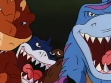 """Animações Bizarras e Obscuras dos anos 90  I  PARTE 2: """"Tubarões Urbanos"""""""