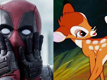 Deadpool I Ryan Reynolds comenta crossover com Bambi que a Disney negou