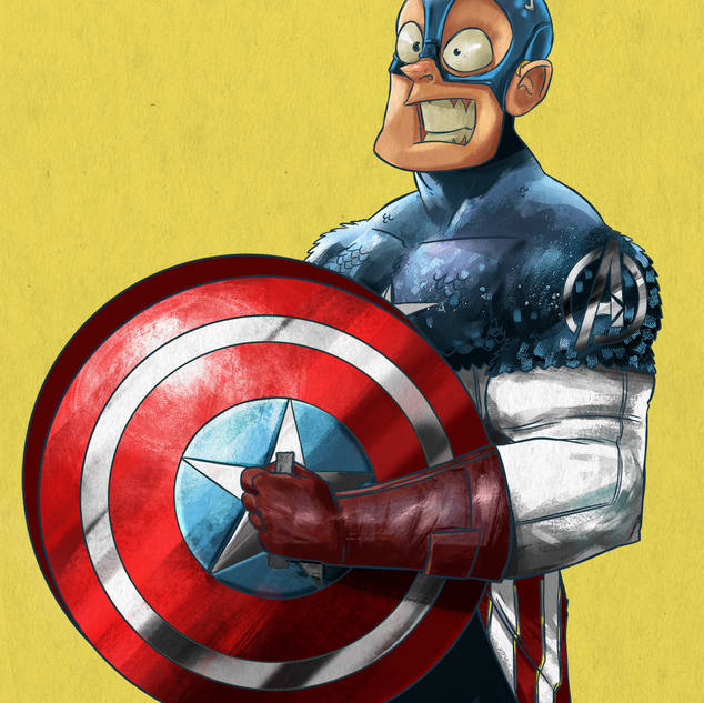 GUITAR HEROES | Capitão América