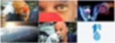 Alguns frames do vídeo finalizado pela Ovelha Negra para a One Drop Foundation