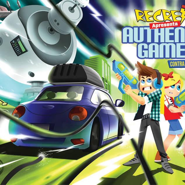 RECREIO APRESENTA Authentic Games Contra o Barão Elétrico