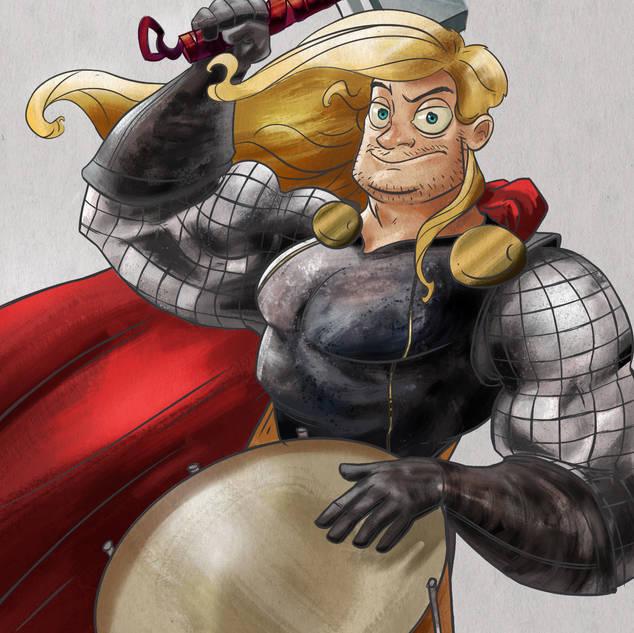 GUITAR HEROES | Thor