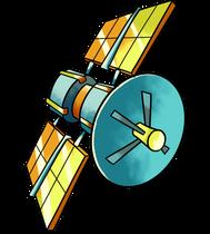 O TEMPO VOA | Vinheta de Abertura - Props: Satelite