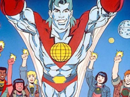 Capitão Planeta e os cinco cavaleiros apocalípticos do Greenpeace.