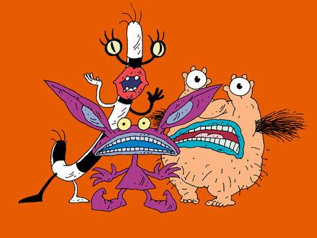 "Animações Bizarras e Obscuras dos anos 90  I  PARTE 4: ""Aaahh!!! Monstros"""