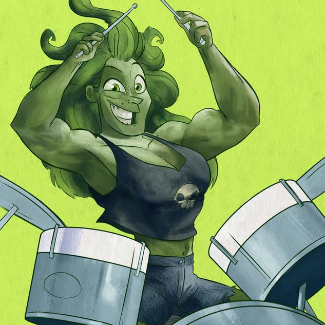 GUITAR HEROES | She-Hulk