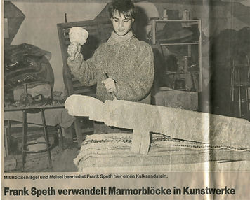 Der Künstler Frank Speth aus Quickborn Dithmarschen