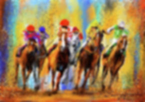 colorful-horse-racing-impressionist-pain