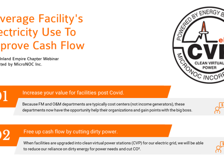 COVID-19 Improved Cash Flow Model For California Facilities