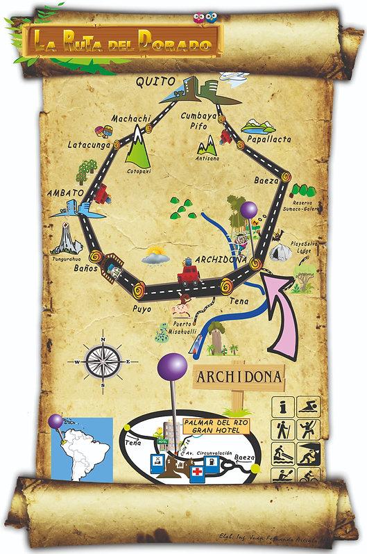 como ir al tena, como llegar a archidona ecuador, hoteles en el tena, mapa de napo, hoteles en archidona