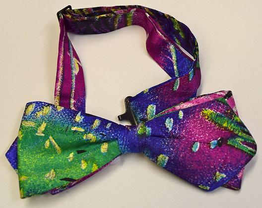 Vintage Pre-Tied Bow Tie Multi Coloured