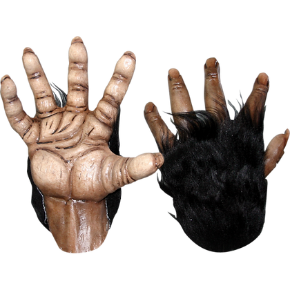 Deluxe Halloween Chimp Brown Hands