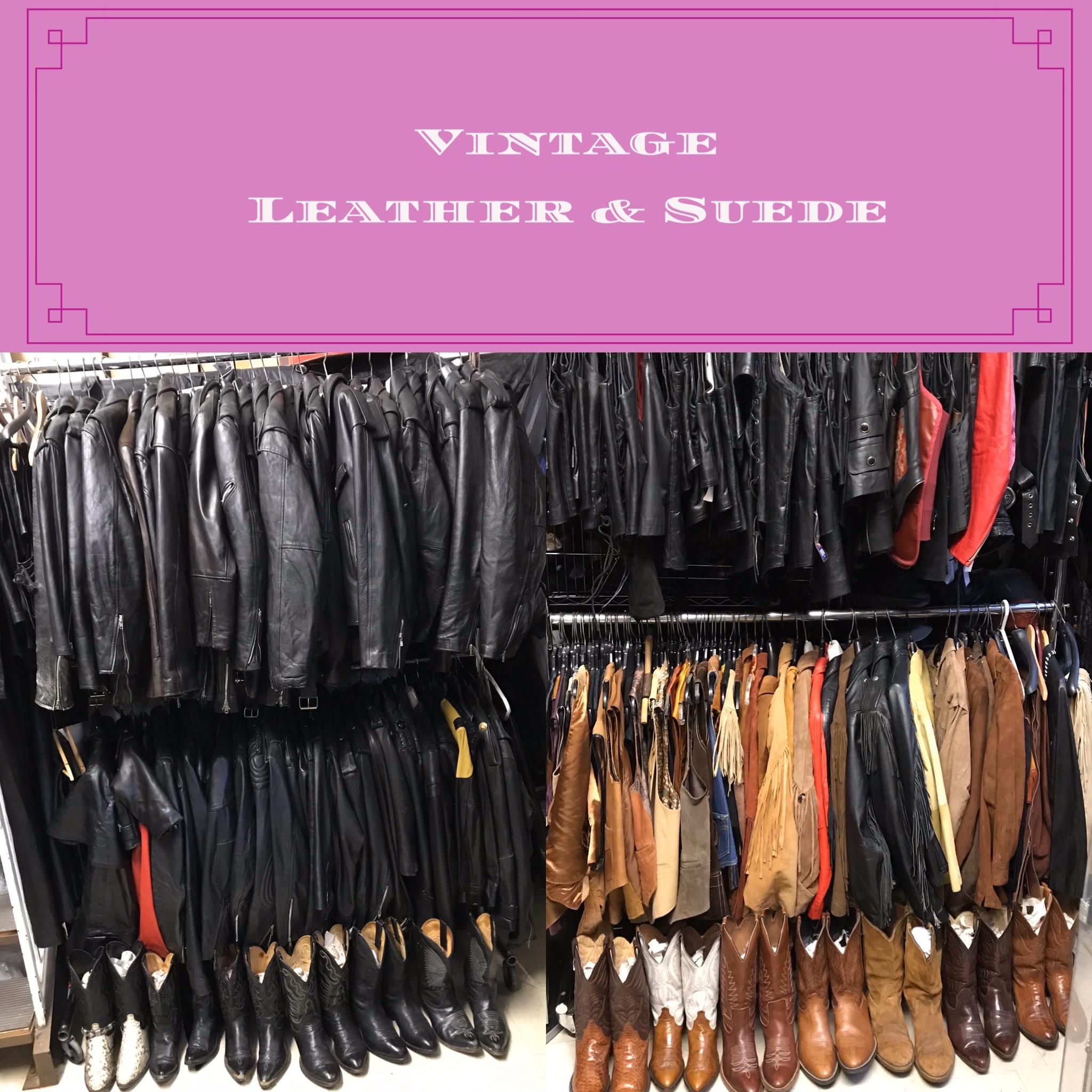 Vintage Leathers & Suedes