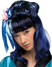 Dragon Lady Theatrical Wig Blue