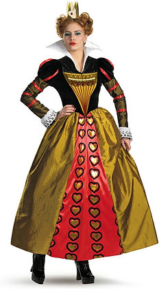 Alice in Wonderland Red Queen Adult Costume Small