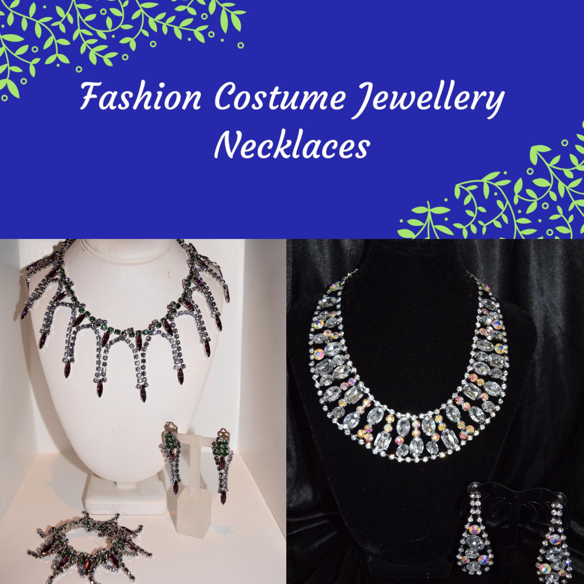 Fashion Costume Necklaces