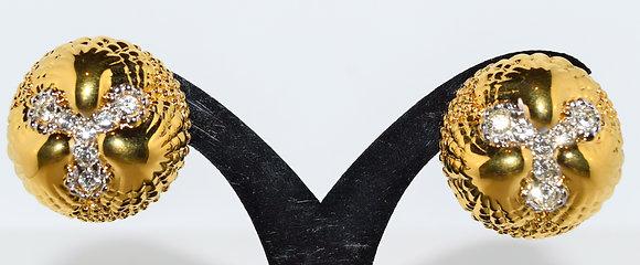 Vintage Nina Ricci Clip 0n Earrings