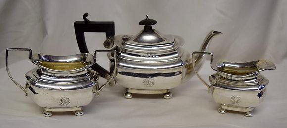 Antique J Collyer Ltd. Sterling Hallmark Tea Set
