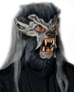 Night Crawler Deluxe Halloween Mask Moving Mouth