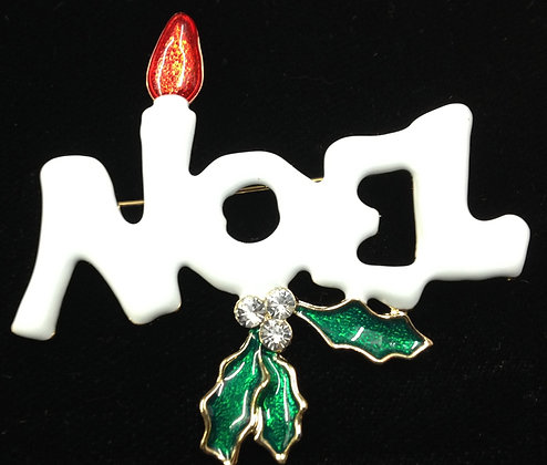 Noel Brooch Pin
