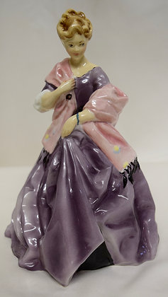 Royal Worcester England First Dance Figurine