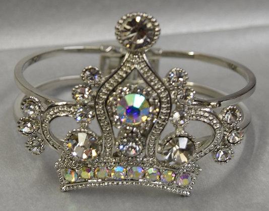 Crown Rhinestone Bracelet Cuff Bracelet