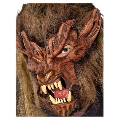 Lone Wolf Deluxe Halloween Mask Moving Mouth