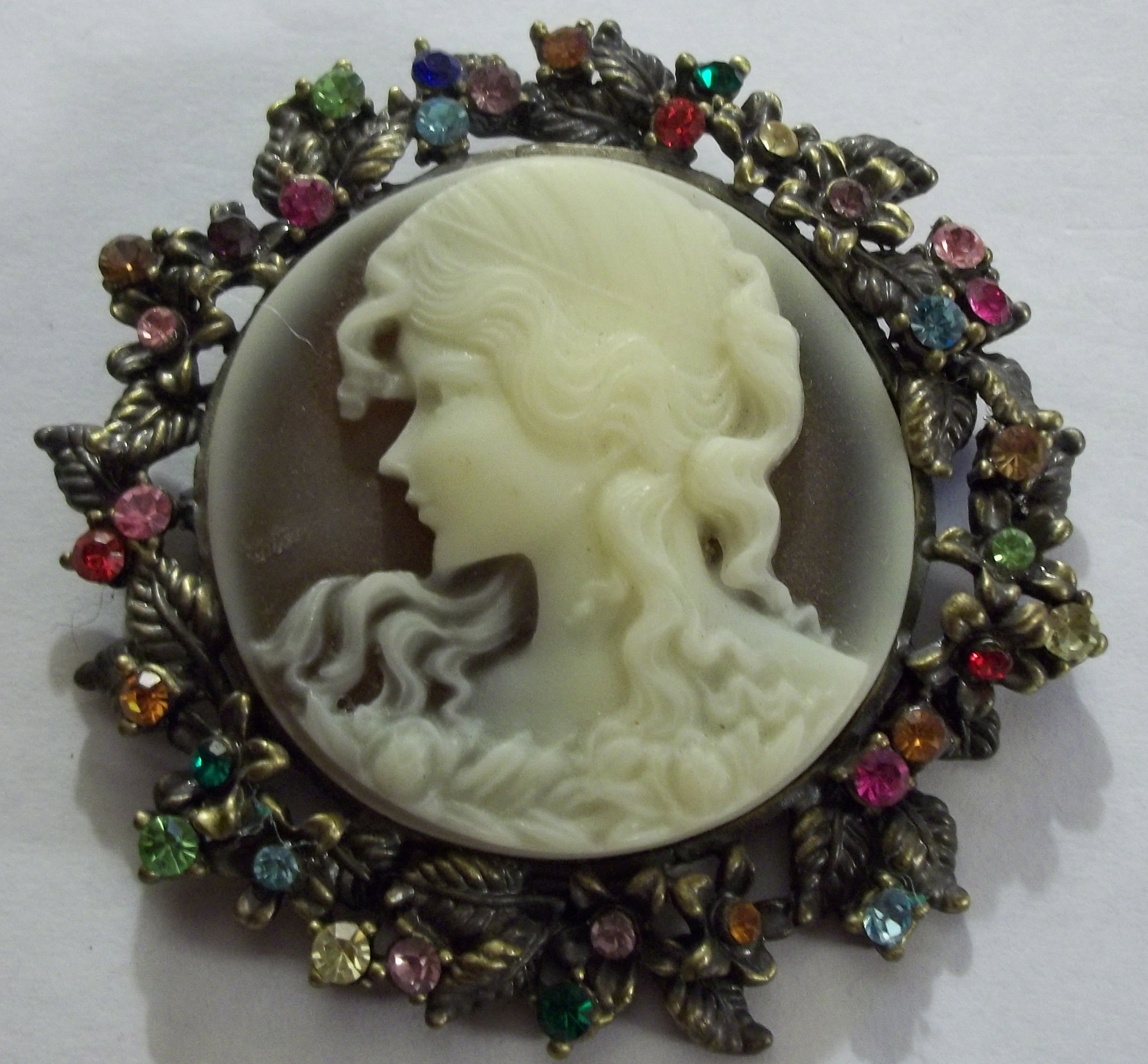 Cameo & Portrait Brooch Pins