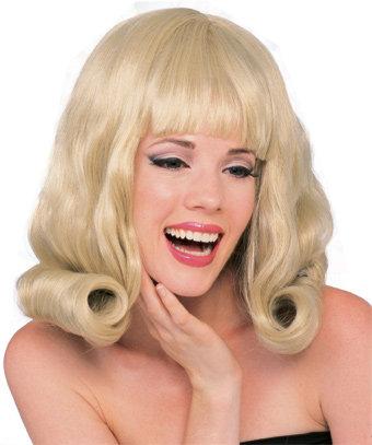 60's Flip Blonde Theatrical Wig