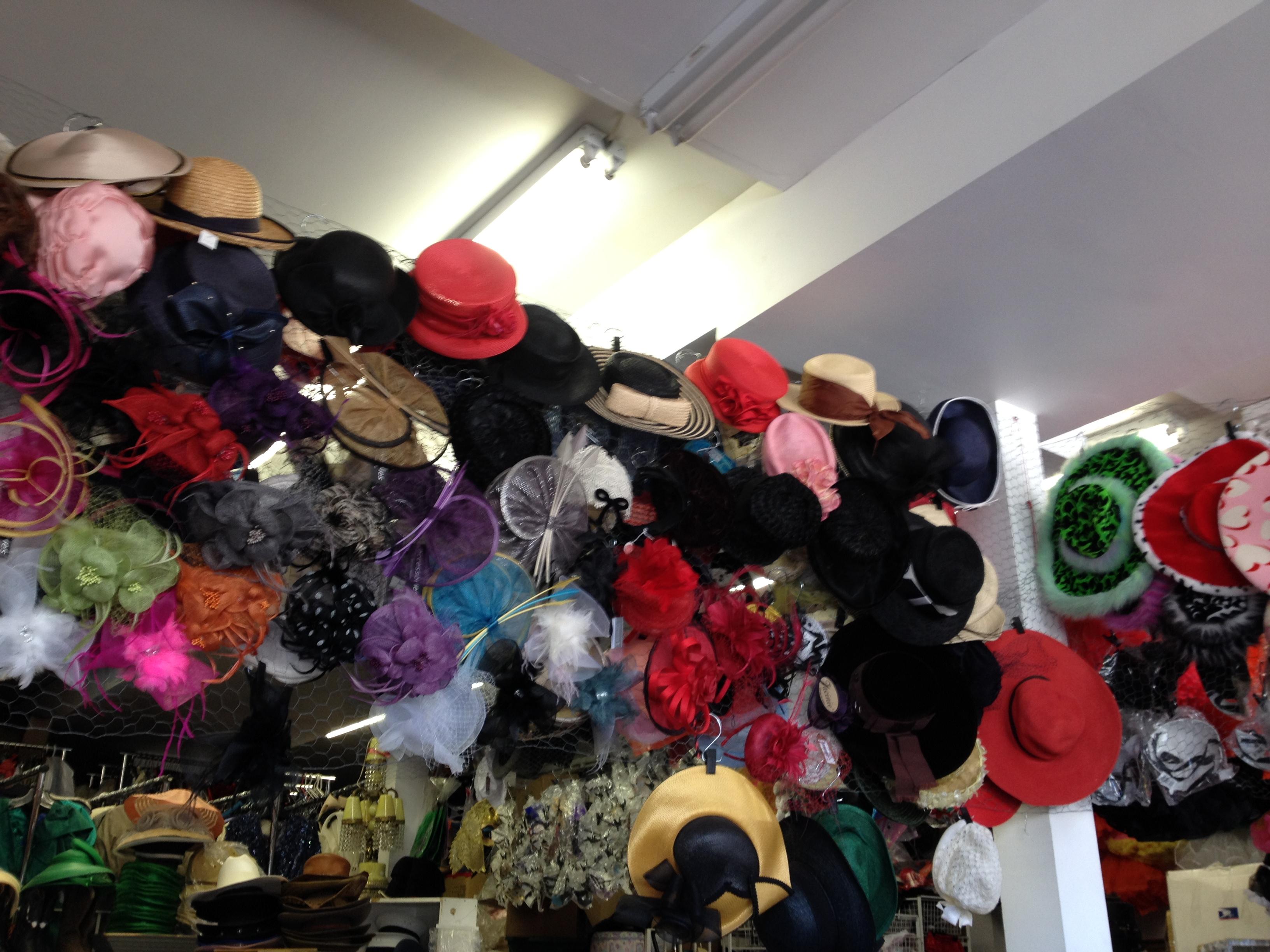 Vintage & New Hats