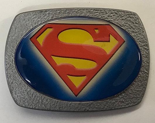 Vintage Classic Superman Belt Buckle