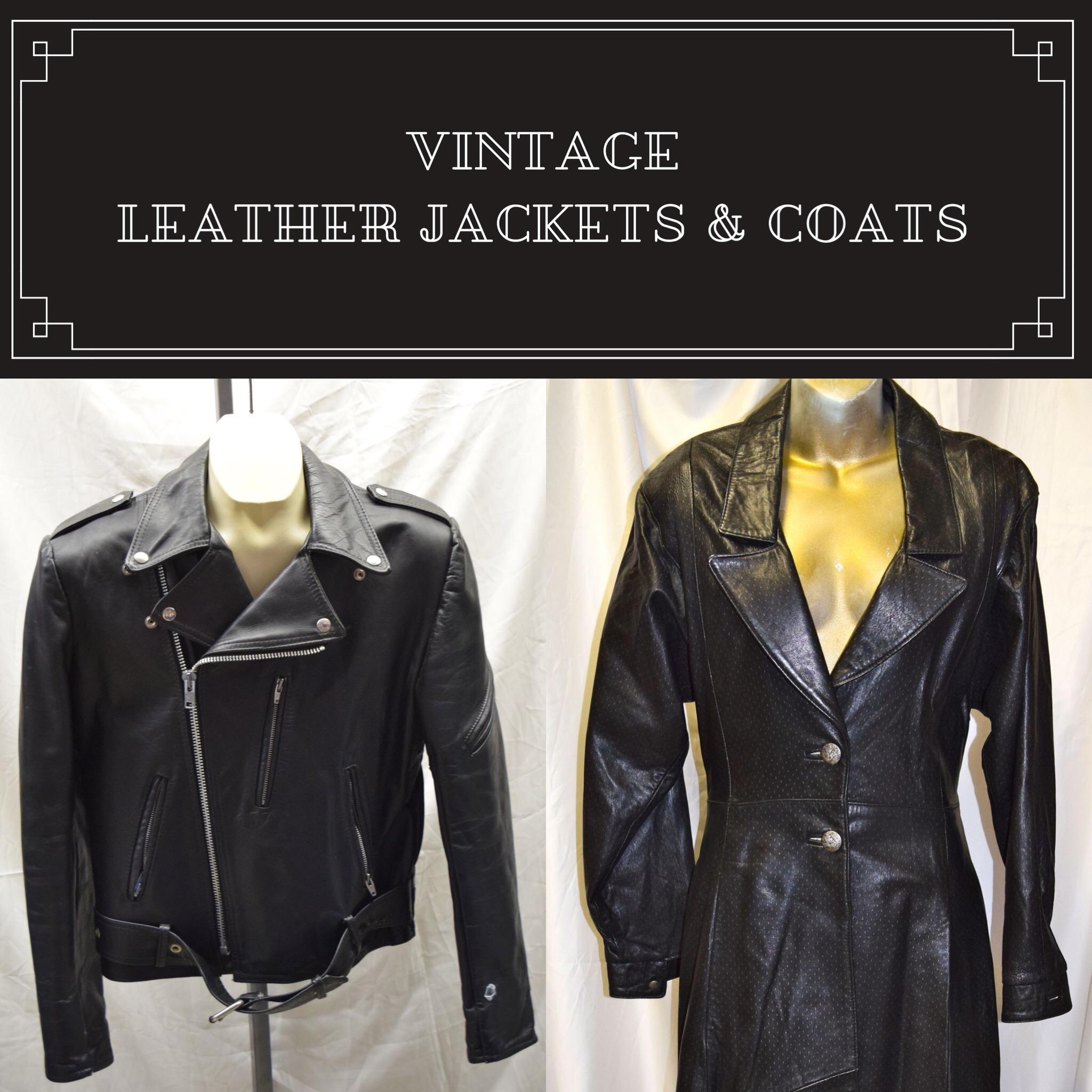 Vintage Leather Jackets & Coats