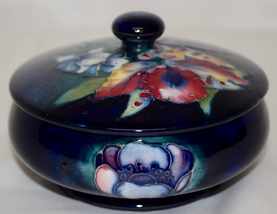 Antique Moorcroft Pottery Candy Dish