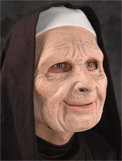 Nun For You Halloween Mask Moving Mouth