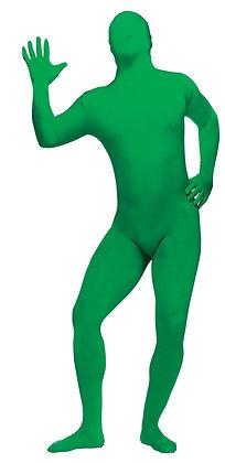 Skin Suit Green Costume