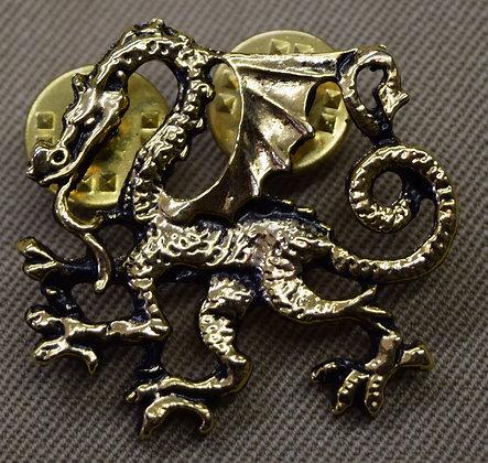 Dragon Pin Gold Colour