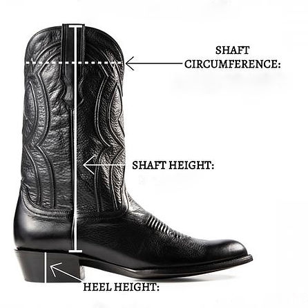 How to find your cowboy boots size