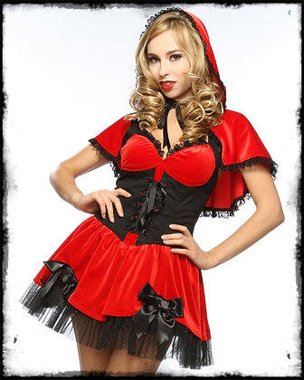 Lip Service Red Riding Hood Adult Costume