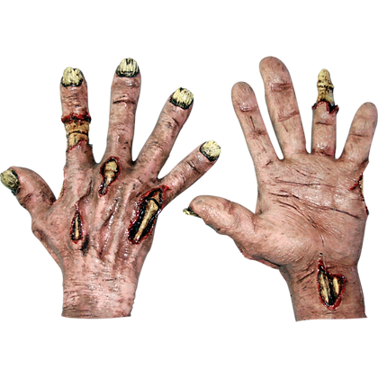 Deluxe Halloween Zombie Rotted Hands