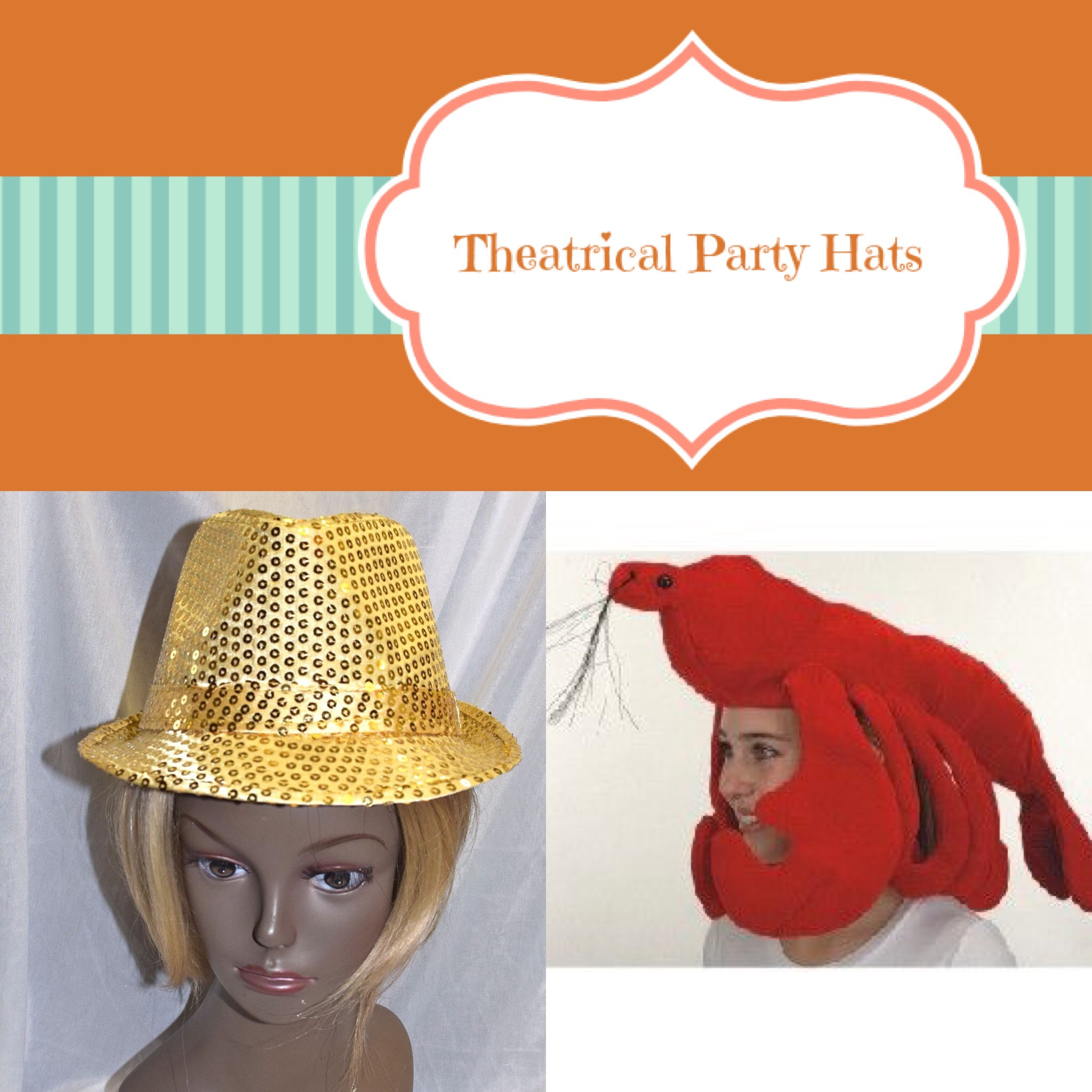 Theatrical Party Hats