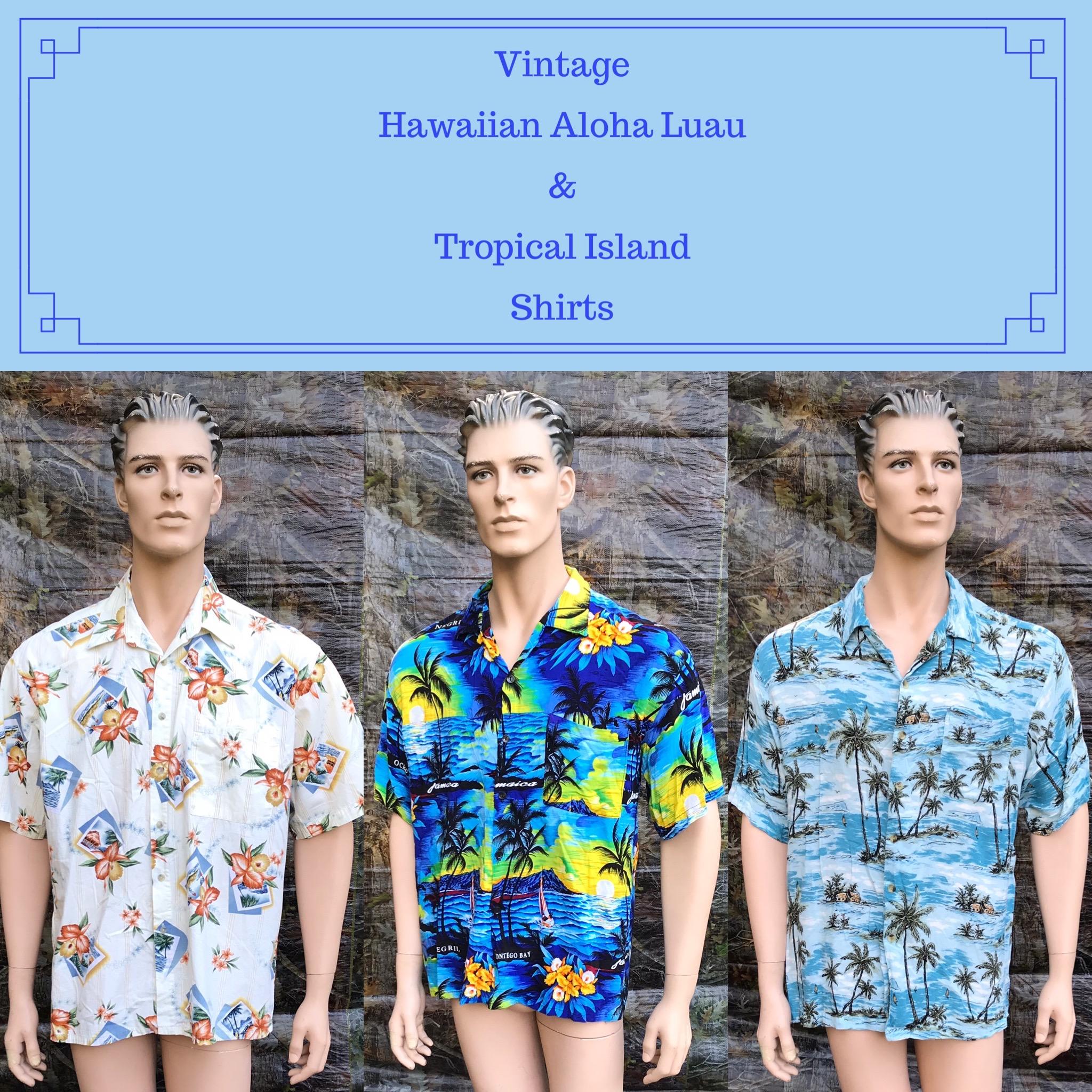 Hawaiian Aloha Luau Shirts