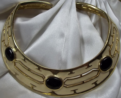 Cleopatra Style Vintage Collarbone Necklace