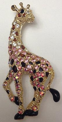 Giraffe Brooch Pin and Pendant