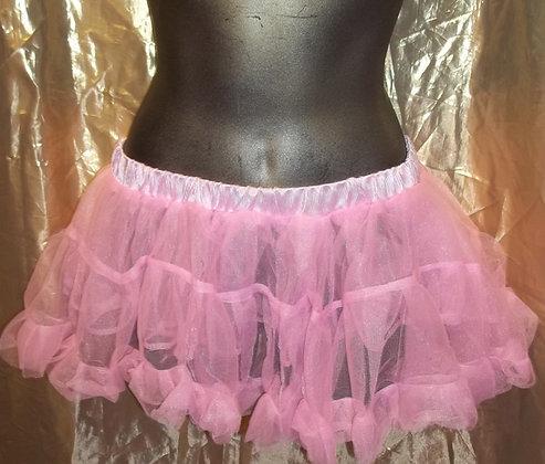 Micro Mini Petticoat Slip Pink