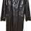 Thumbnail: Men's Vintage Apropos Faux Leather Black Coat