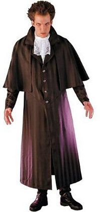 Jack the Ripper Full Duster with Cloak Adult Costume Medium