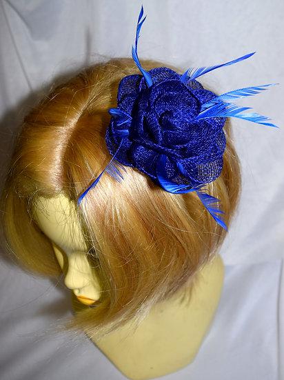 Petit Flower Royal Blue Fancy Fascinator