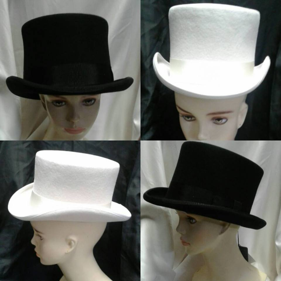 Quality Vintage & New Top Hats