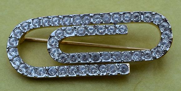 D'orlan Paper Clip Brooch Pin