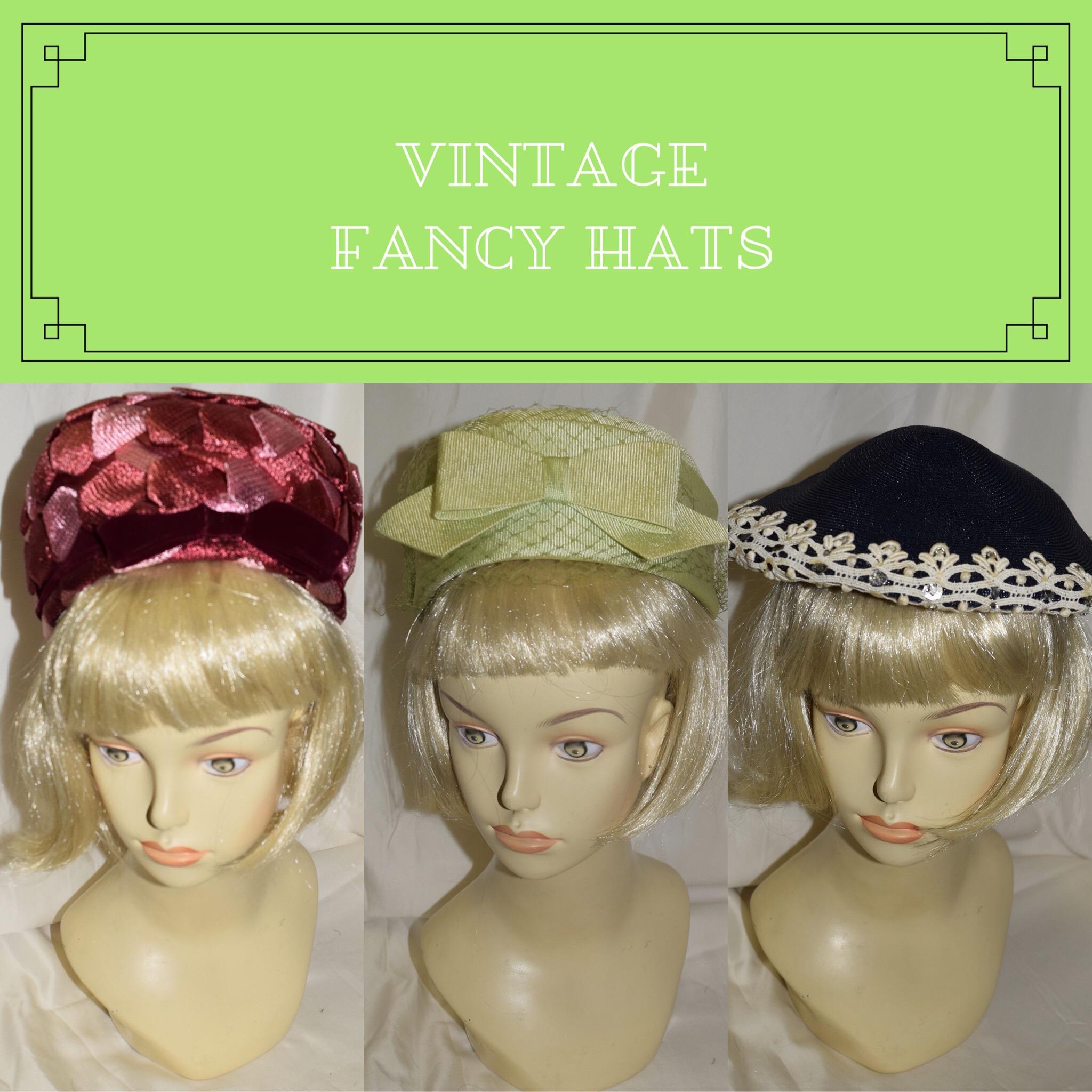 Vintage Fancy Hats